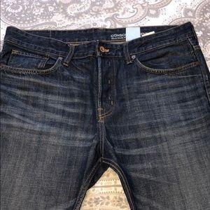 Men's Size 34X30 H&M Conscious & Denim Blue Jeans